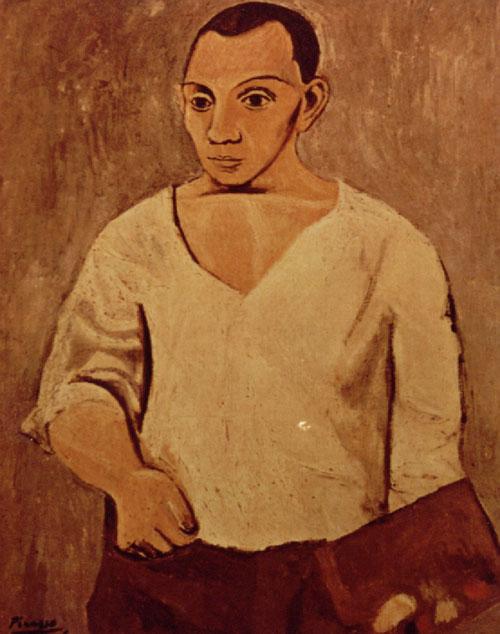 picasso self portrait 1899. Portrait by Pablo Picasso